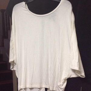 Cream top Jessica Simpson NWT